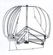 Ventilační turbína VIV 10/260d, průměr 260mm