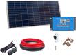 12V Fotovoltaický ostrovný systém 115Wp (bez batérie)