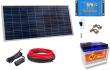 12V Fotovoltaický ostrovní systém 115Wp 80Ah