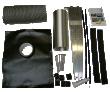 Sada na strechu pre SV30 - Typ sady SolarVenti: Tašky typu 1-125