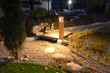 solární lampa Woodlight
