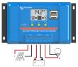 12V DC / 230V AC Fotovoltaický ostrovný systém 115Wp 80Ah