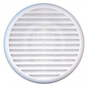 Kruhová mřížka plastová se síťkou proti hmyzu, 80-125mm