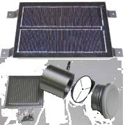 SolarVenti odvětrací sada, 6 W panel