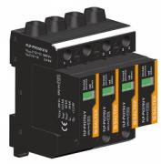 FLP-PV550 V/U Svodič bleskových proudů a přepětí pro fotovoltaické systémy