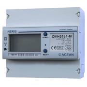 Elektroměr DVH 5161-M, přímé měření 10-100A, 3 fáze, ověřený, CZ cejch
