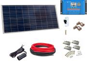 12V Fotovoltaický ostrovní systém 100Wp (bez baterie)