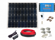 12V Fotovoltaický ostrovní systém 50Wp (bez baterie)