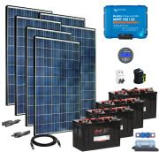 48V Fotovoltaický ostrovní systém 1680Wp (MPPT)