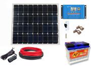 12V Fotovoltaický ostrovní systém 60Wp 60Ah