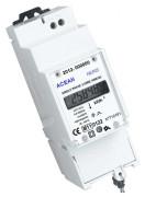 Elektromer WH6165, priame merenie do 65 A, LCD displej, úredne overený