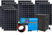 48V DC / 230V AC Fotovoltaický ostrovní systém 3360 Wp (MPPT)