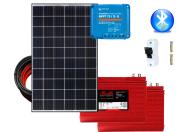 24V Fotovoltaický ostrovný systém 300Wp (MPPT)