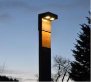 Solární lampa SINGLE SOL-2M, modřín