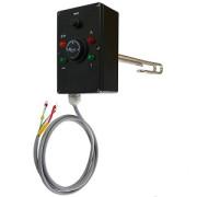 Vykurovacie teleso poniklovanej 1f s termostatickou hlavicou, typ D