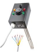 Vykurovacie teleso poniklovanej 3f s termostatickou hlavicou, typ G