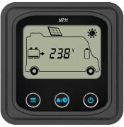 Displej MT-11 k regulátoru Duoracer