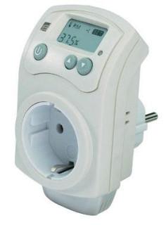 Spínacia zásuvka s hygrostatom (230 V)