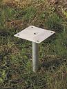 Oceľová pätka pre solárne sprchy35l