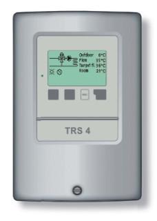 Regulátor TRS4 pro 2 otopné okruhy