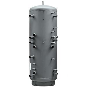 Akumulační nádrž s 2 nerezovými výměníky TV HSK 600 PV