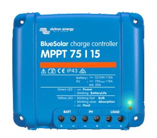 MPPT solárny regulátor Victron Energy 15A 75V