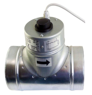 Ohrievač vzduchu do potrubia, elektrický, DN 150, 600 W
