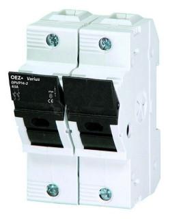Dvojpólový poistný odpínač do 63A, 14x51