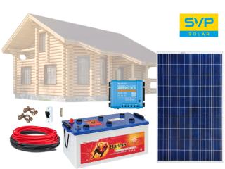 12V Fotovoltaický ostrovní systém 285Wp (MPPT Victron energy)