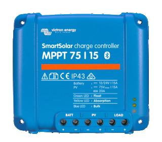 MPPT SMART solárny regulátor Victron Energy 15A 75V