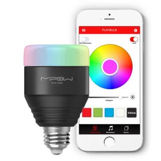 MiPow Playbulb™ Smart múdra LED BT žiarovka -čierna