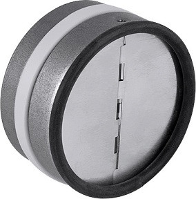 Spätná klapka tesná, priemer 100-125 mm