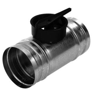 Škrtiaca klapka kruhová, priemer 100-150mm