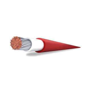 Solární kabel, průřez 4 mm², červený