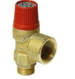 """Pojistný ventil G1/2""""F, 6 bar, do 140°C"""
