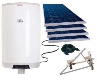 Fotovoltaický ohrievač LX ACDC/M+K ABC 160, sada