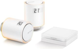 Netatmo Radiator Valves starter pack - Sada 2x termostatická bezdrôtová hlavica + Relé + príslušenstvo