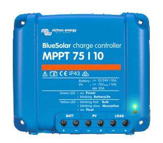 MPPT solární regulátor Victron Energy 10A 75V